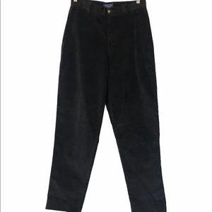 Retro London Fog Brown Corduroy Pants, Size 30